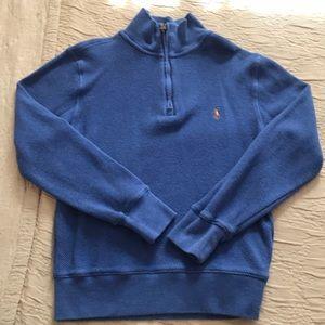 Ralph Lauren mock neck sweatshirt size 8